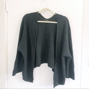 Brandy Melville black short knit sweater cardigan